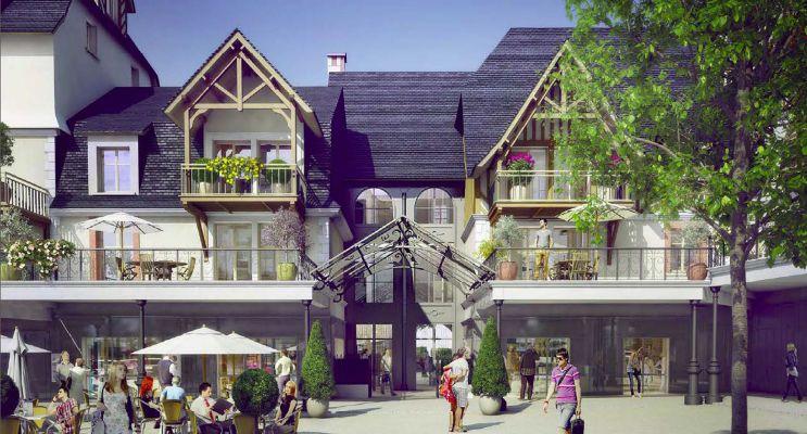Photo du Résidence « Les Jardins d'Eugenie Nue Pro » programme immobilier neuf en Nue Propriété à Deauville