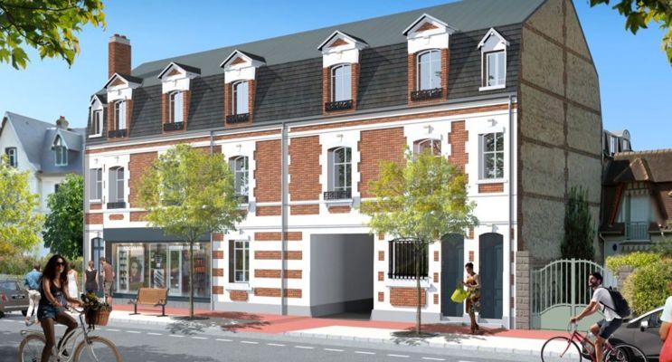 Photo du Résidence « Les Nymphéas Bât. A » programme immobilier à rénover en Déficit Foncier à Deauville