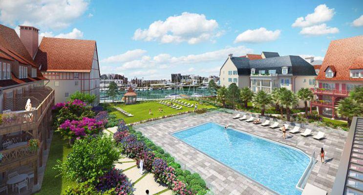 Résidence « Presqu'Île De La Touques » programme immobilier neuf à Deauville n°2