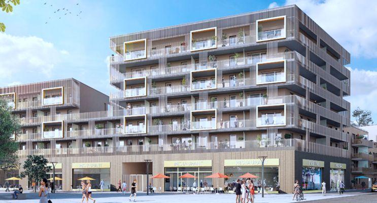 Fleury-sur-Orne : programme immobilier neuf « Eclosion » en Loi Pinel