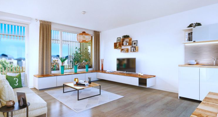 Résidence « Eclosion » programme immobilier neuf en Loi Pinel à Fleury-sur-Orne n°2