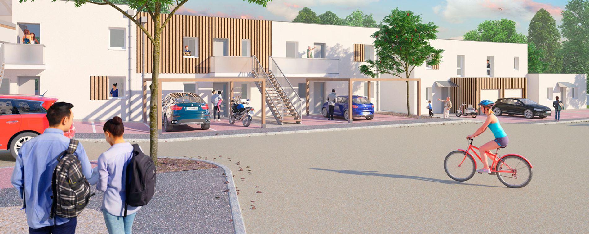 Fleury-sur-Orne : programme immobilier neuve « Esprit City » en Loi Pinel