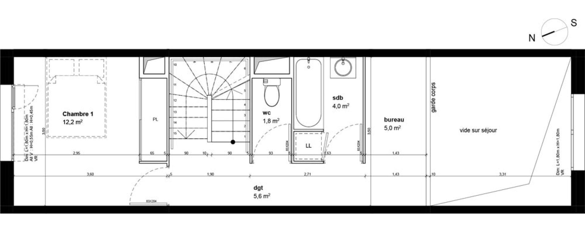 Maison T4 de 99,00 m2 à Fleury-Sur-Orne Centre