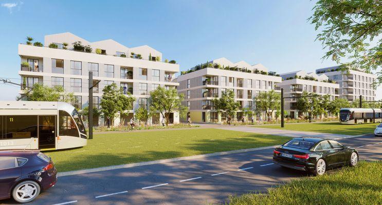 Fleury-sur-Orne : programme immobilier neuf « Les Terrasses de L'Etang » en Loi Pinel