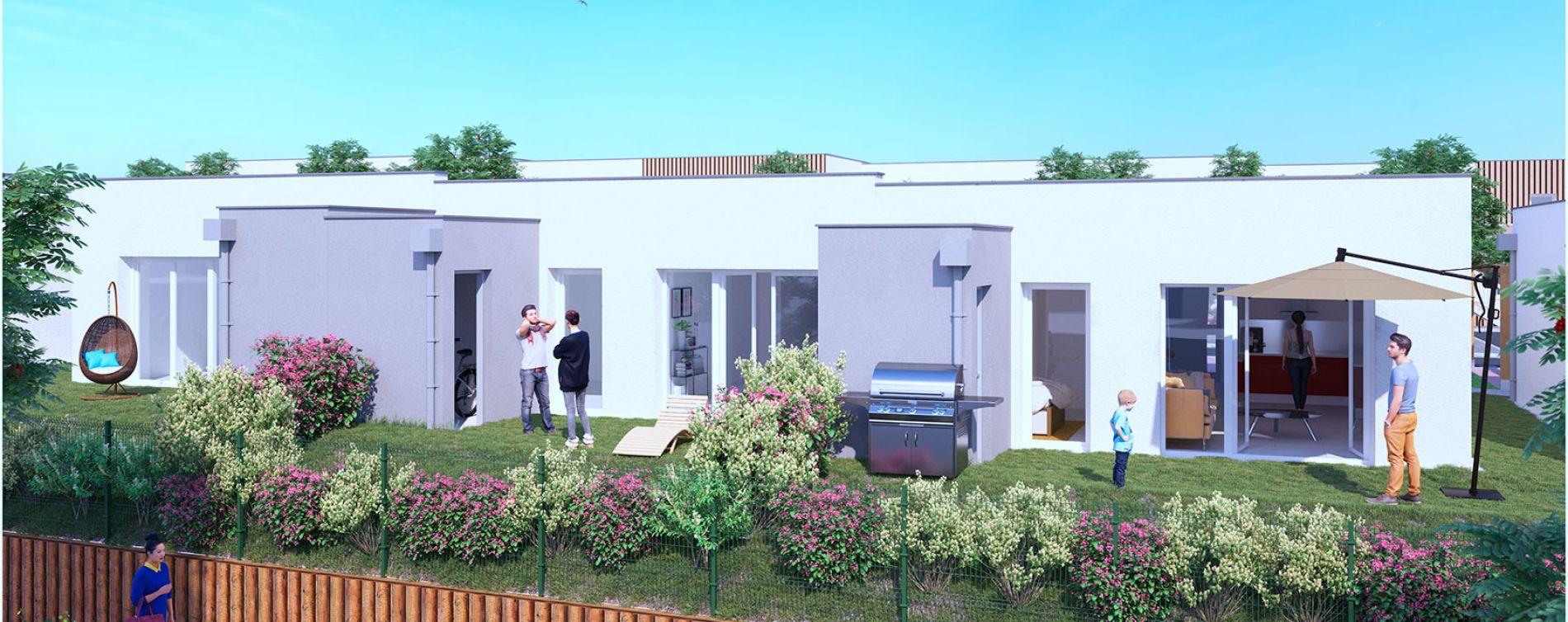Résidence Les Villas Jardin à Fleury-sur-Orne