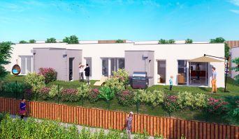 Fleury-sur-Orne : programme immobilier neuf « Les Villas Jardin » en Loi Pinel