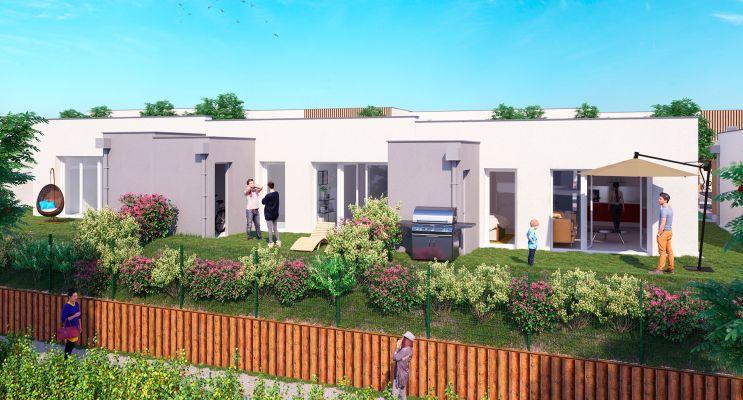 Photo du Résidence « Les Villas Jardin » programme immobilier neuf en Loi Pinel à Fleury-sur-Orne
