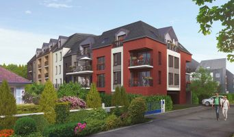 Honfleur programme immobilier neuf « Boréal » en Loi Pinel