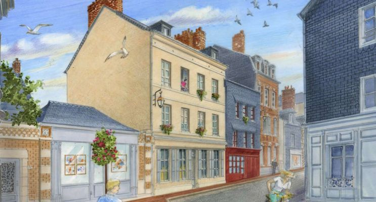 Honfleur : programme immobilier à rénover « Notre Dame » en Loi Malraux