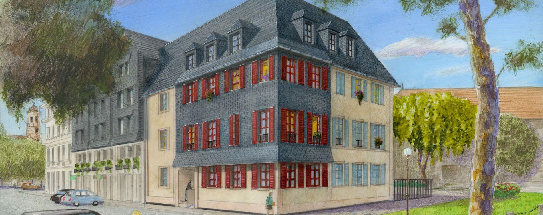 Honfleur : programme immobilier à rénover « Résidence du Bassin du Centre » en Loi Malraux