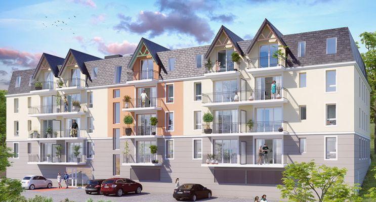 Photo du Résidence « Les Balcons d'Acadie 2 » programme immobilier neuf à Pont-l'Evêque