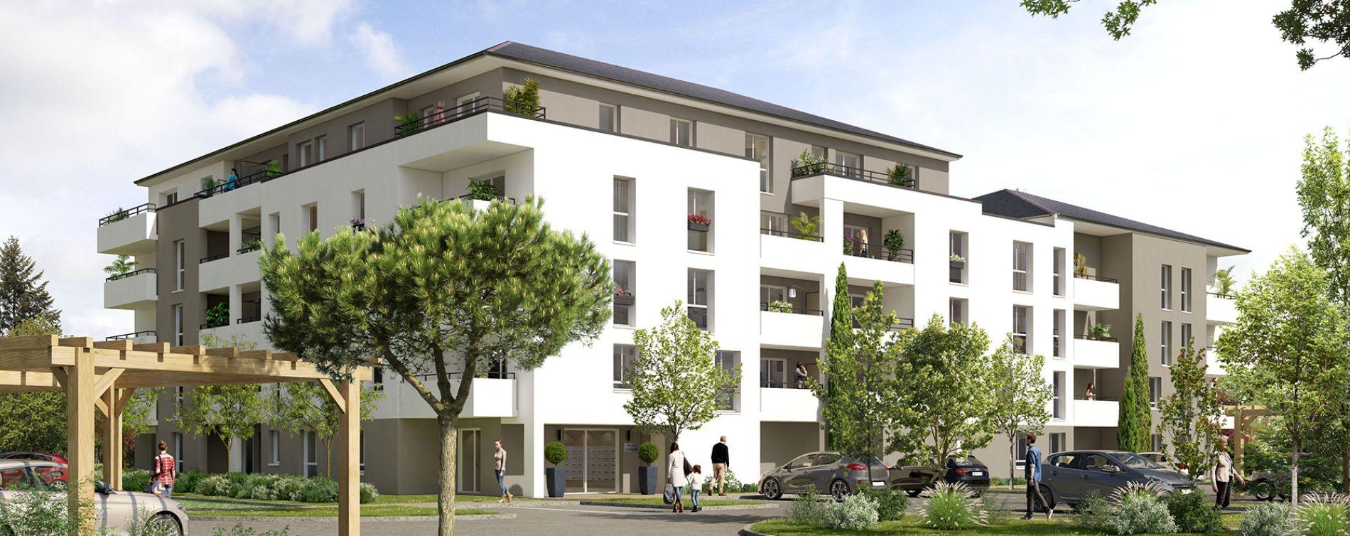 Gaillon : programme immobilier neuve « Villa Verde » en Loi Pinel