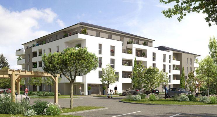 Gaillon : programme immobilier neuf « Villa Verde » en Loi Pinel