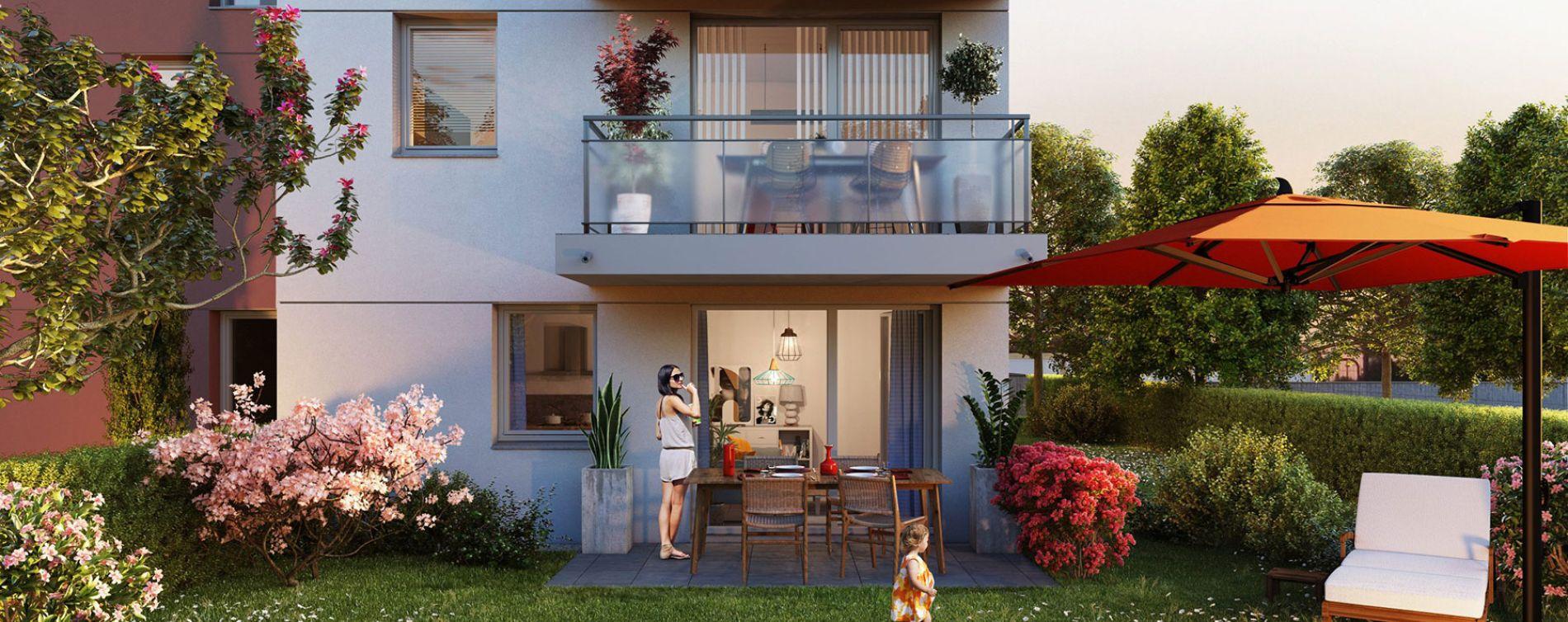 Gisors : programme immobilier neuve « Les JArdins de Pissarro » en Loi Pinel (2)