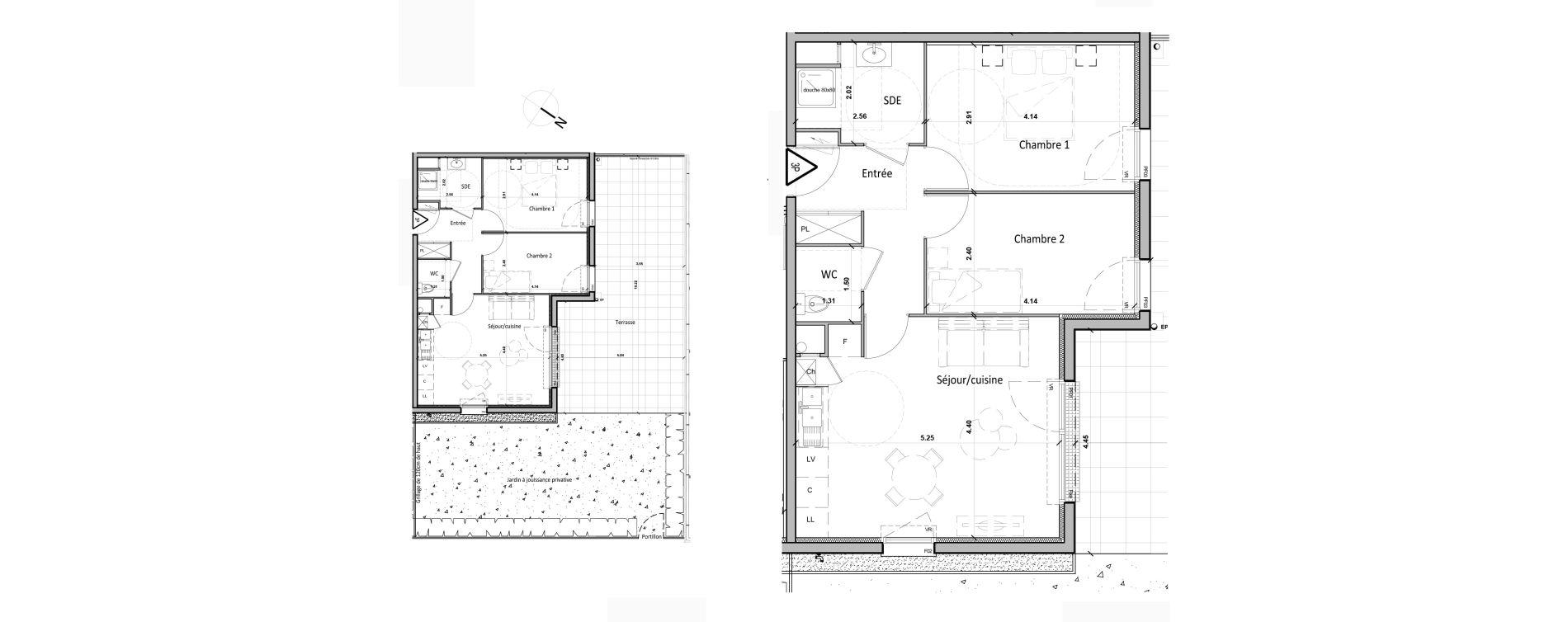 Appartement T3 de 56,80 m2 à Gisors Centre