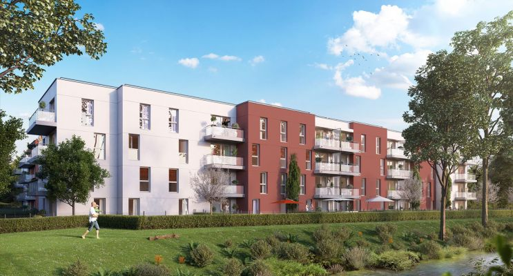 Gisors : programme immobilier neuf « Les JArdins de Pissarro » en Loi Pinel