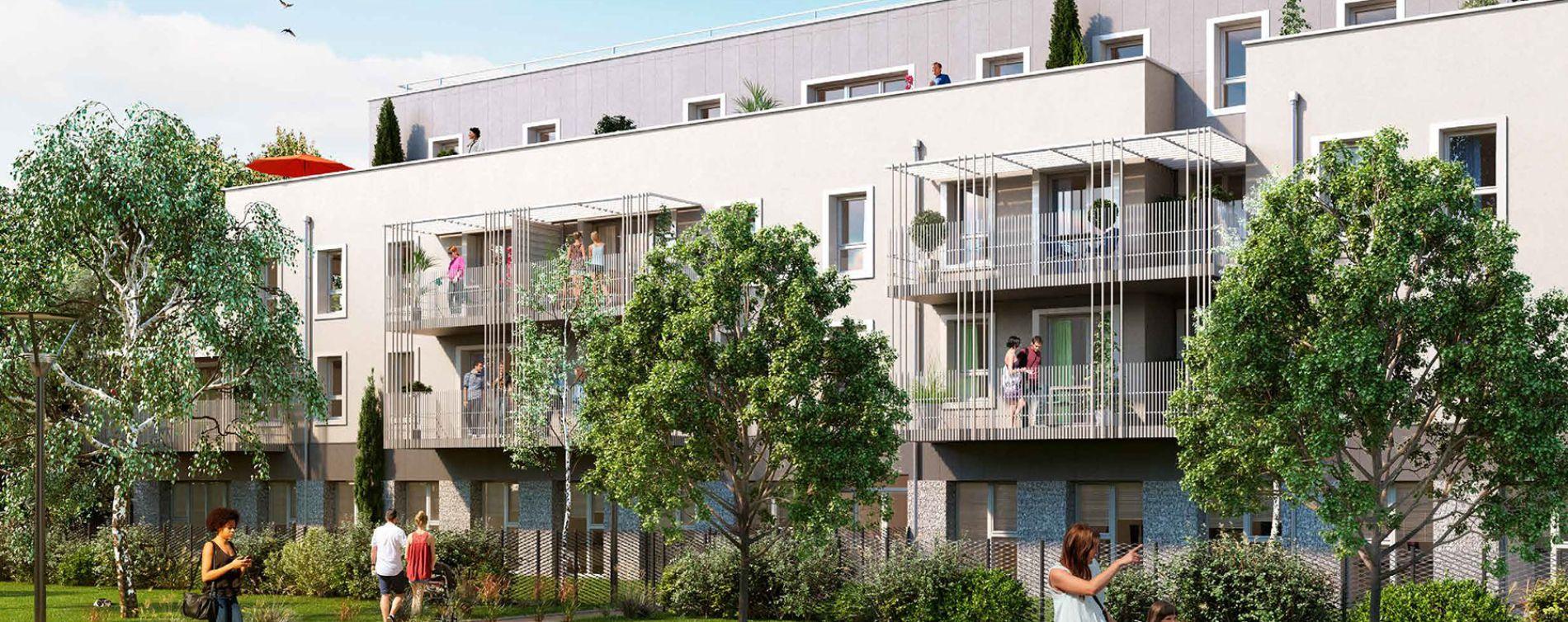 Vernon : programme immobilier neuve « Green Way »