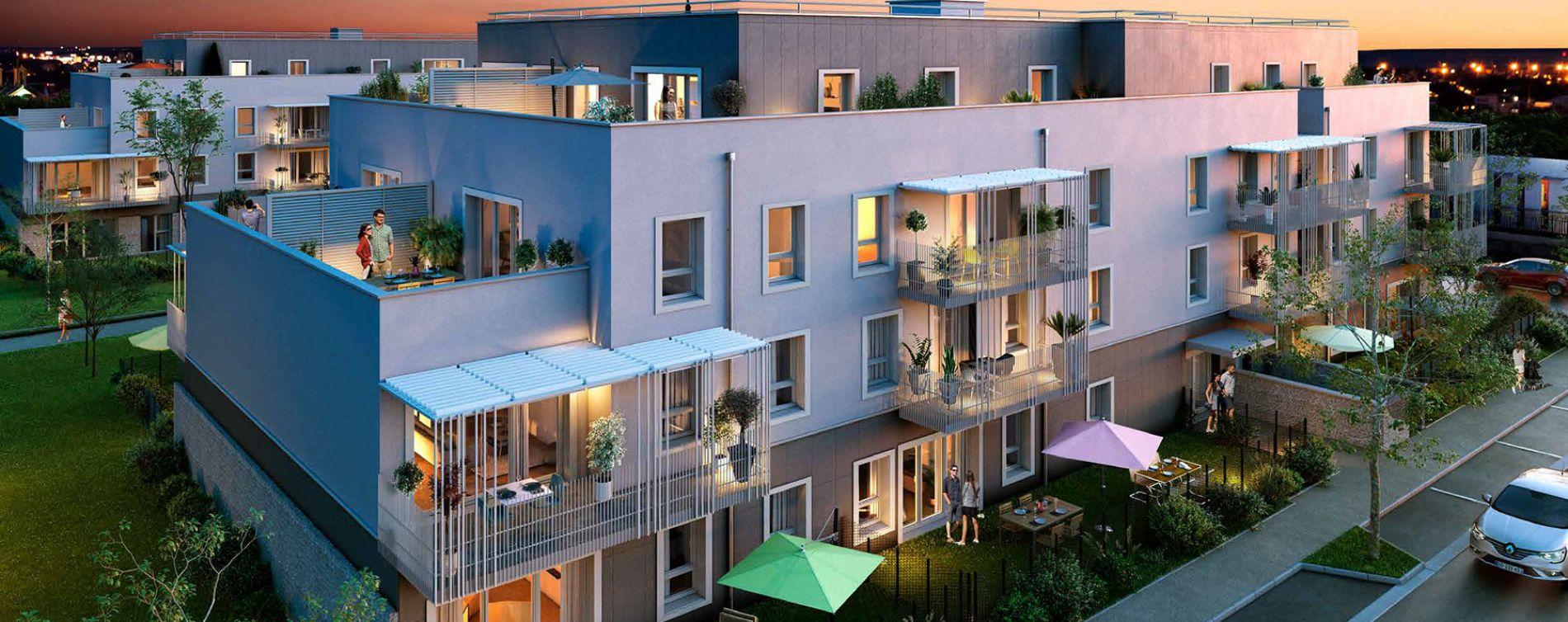 Vernon : programme immobilier neuve « Green Way » (2)