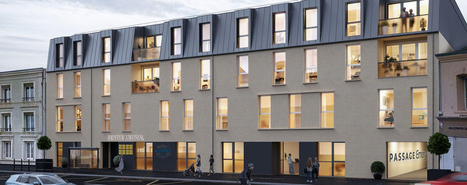 Cherbourg-Octeville : programme immobilier neuve « Passage Emery »