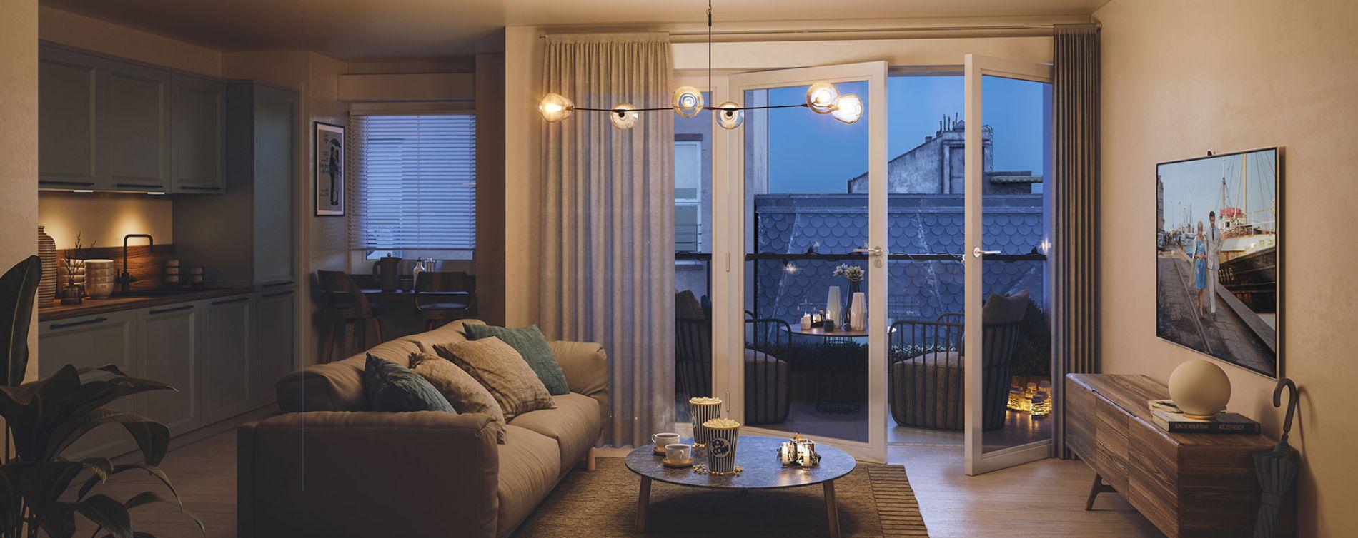 Cherbourg-Octeville : programme immobilier neuve « Passage Emery » (2)