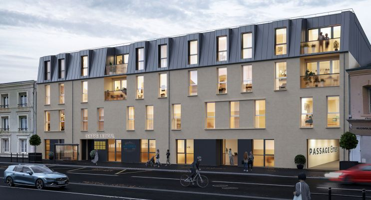 Cherbourg-Octeville : programme immobilier neuf « Passage Emery »