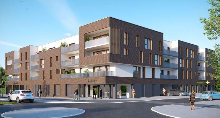 Bois-Guillaume : programme immobilier neuf « Villa Cassinii » en Loi Pinel