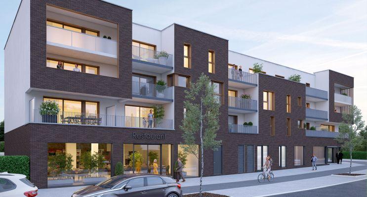 Résidence « Villa Cassinii » programme immobilier neuf en Loi Pinel à Bois-Guillaume n°2