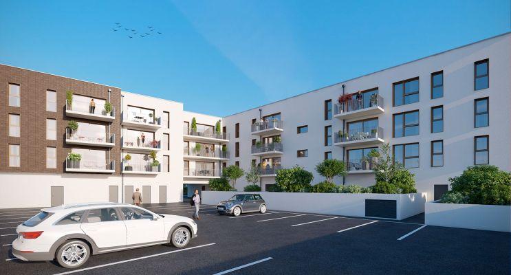 Résidence « Villa Cassinii » programme immobilier neuf en Loi Pinel à Bois-Guillaume n°3
