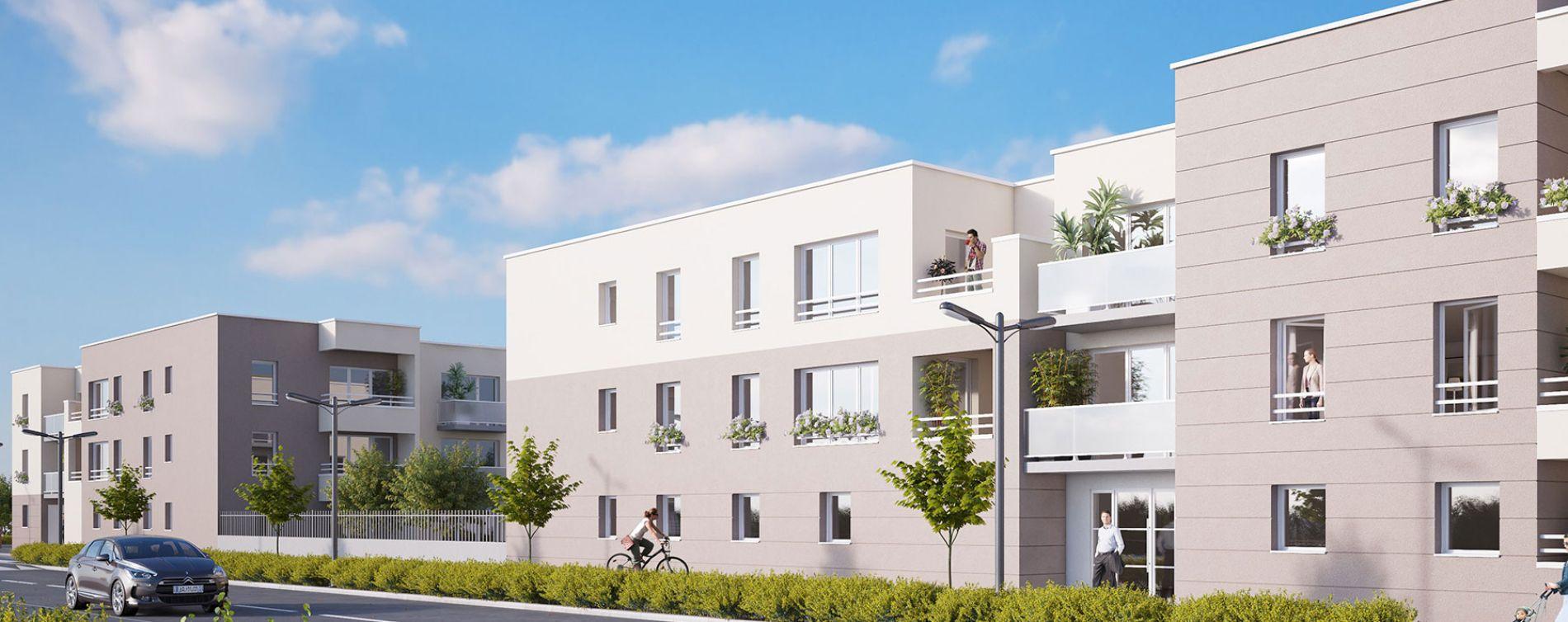 Canteleu : programme immobilier neuve « Belamii »