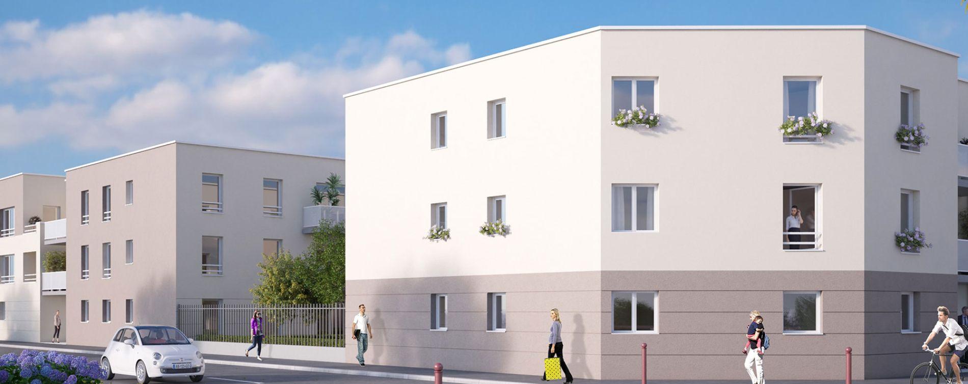 Canteleu : programme immobilier neuve « Belamii » (2)