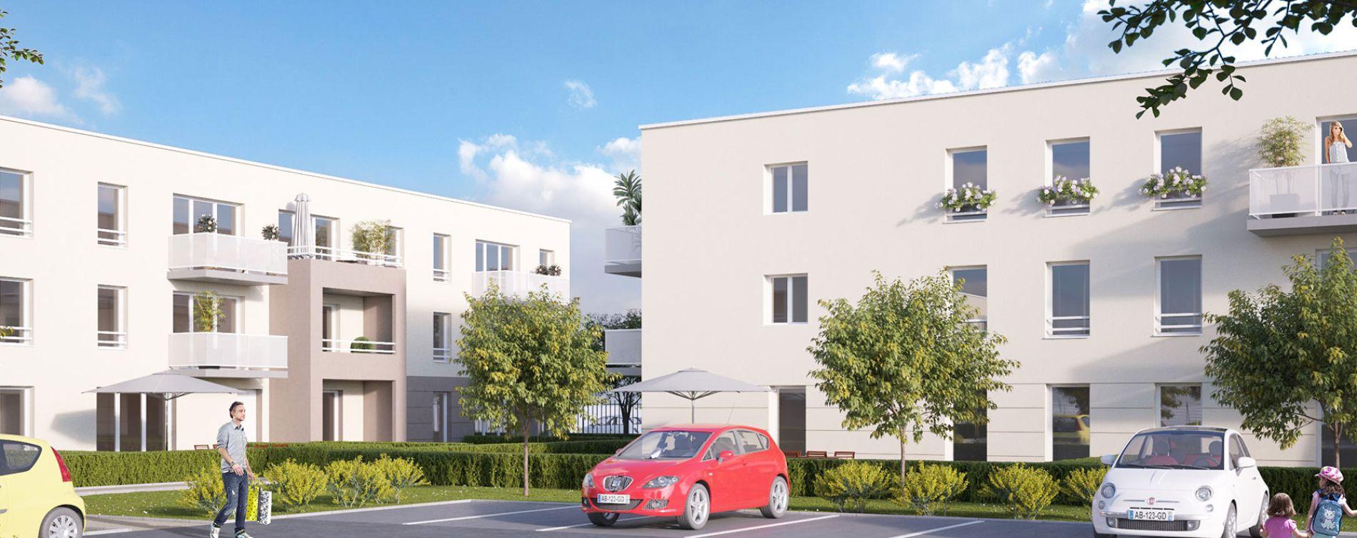 Canteleu : programme immobilier neuve « Belamii » (3)