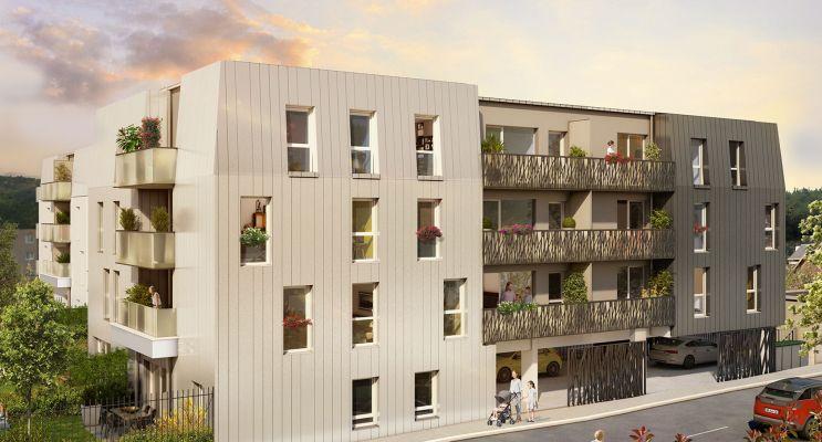 Photo du Résidence « Cobalt » programme immobilier neuf à Déville-lès-Rouen