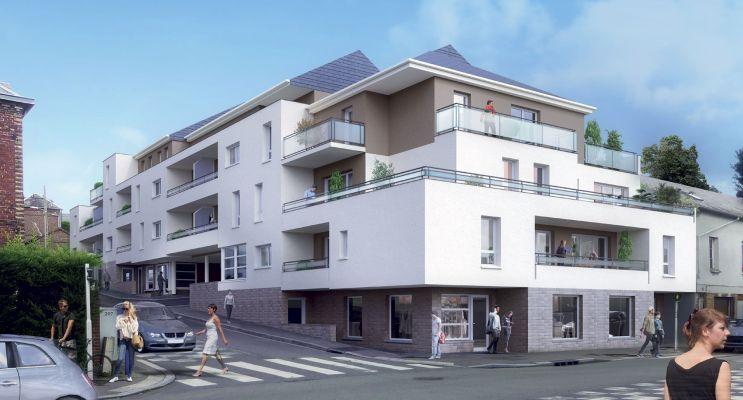 Photo du Résidence « Le Clos des Tisserands » programme immobilier neuf en Loi Pinel à Déville-lès-Rouen