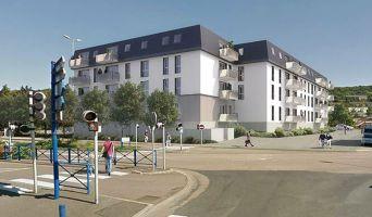 Déville-lès-Rouen : programme immobilier neuf « L'Etoffe du Cailly » en Loi Pinel