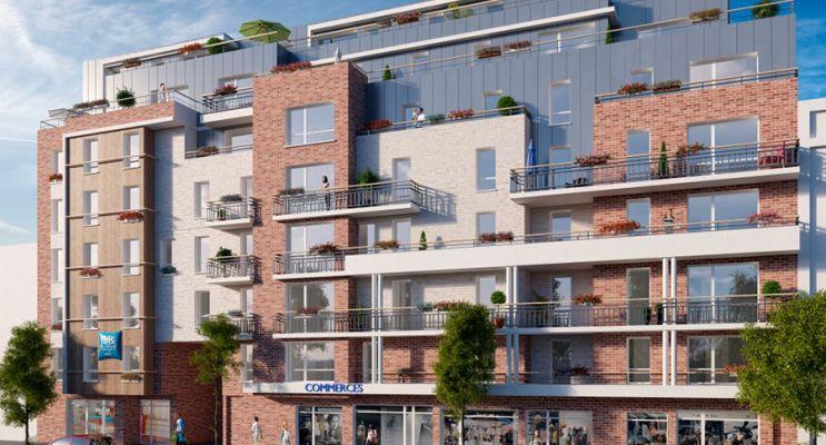 Dieppe : programme immobilier neuf « Quai Sud »