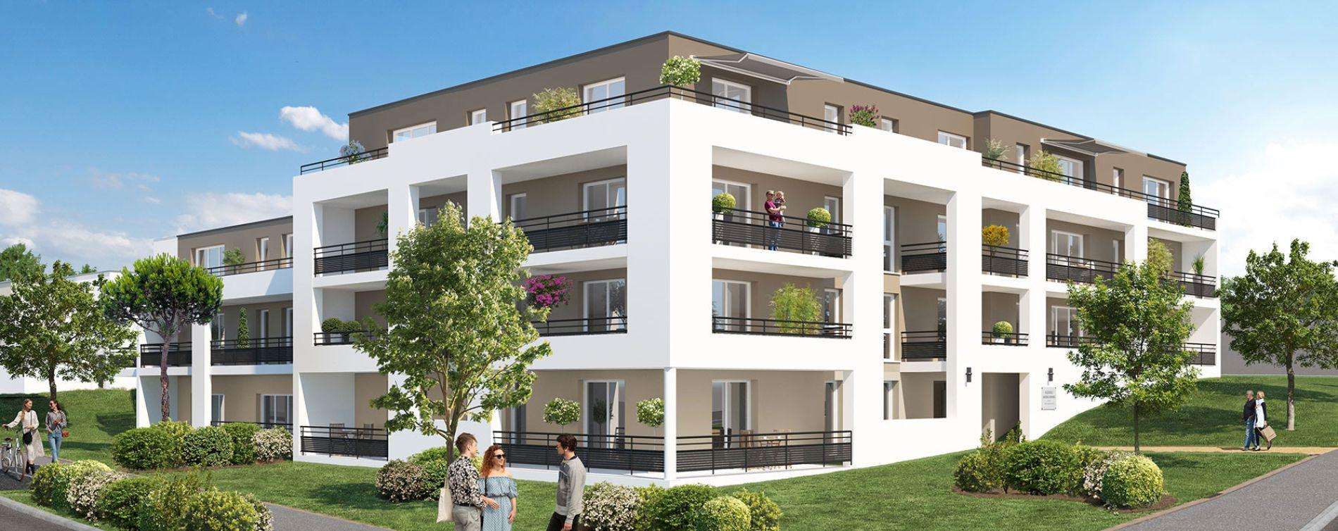 Grand-Couronne : programme immobilier neuve « Jardins Romane » en Loi Pinel