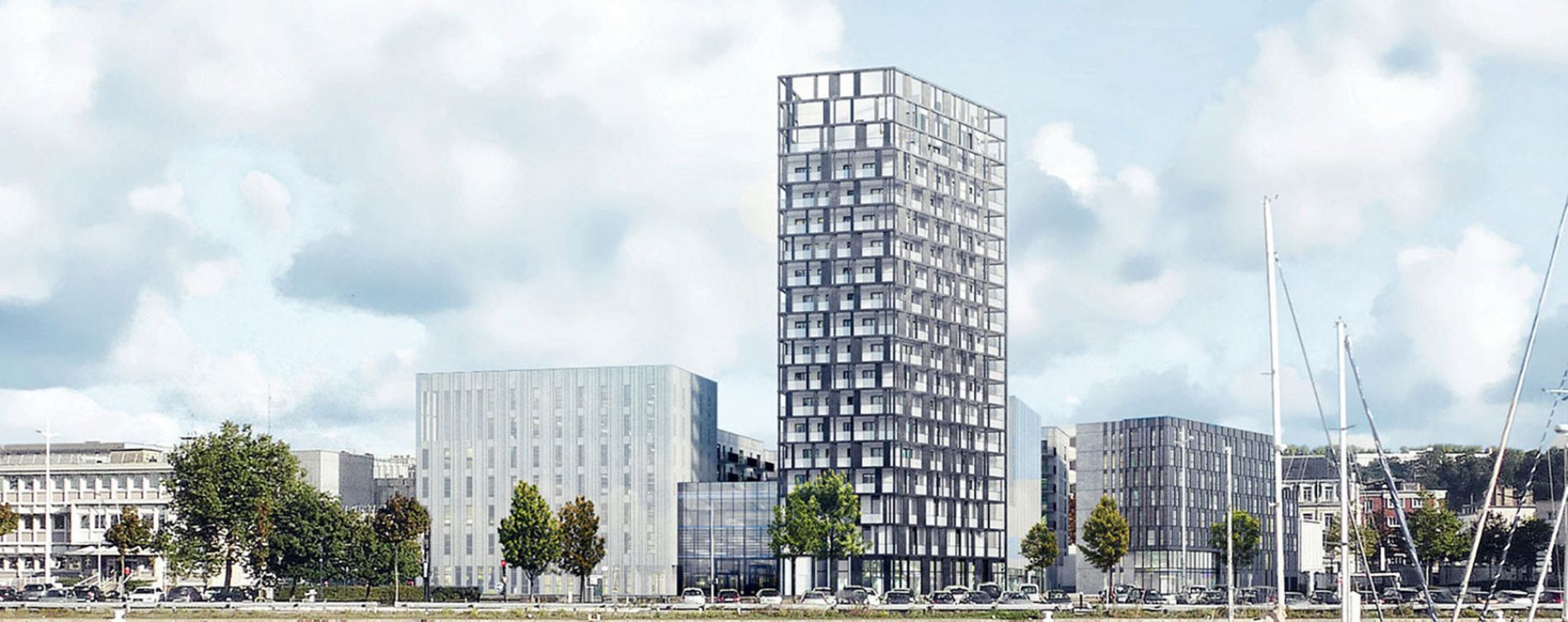 Le Havre : programme immobilier neuve « Destination 360 »