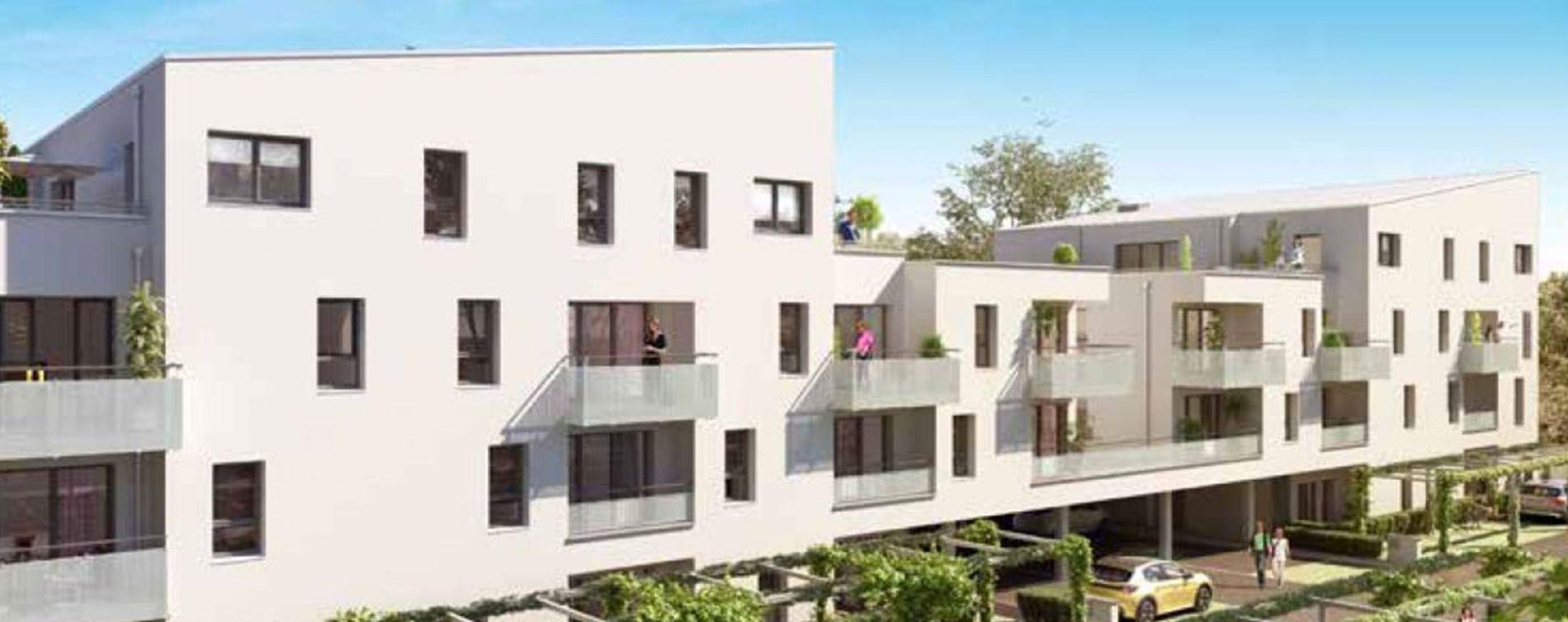 Le Havre : programme immobilier neuve « Grand Air »