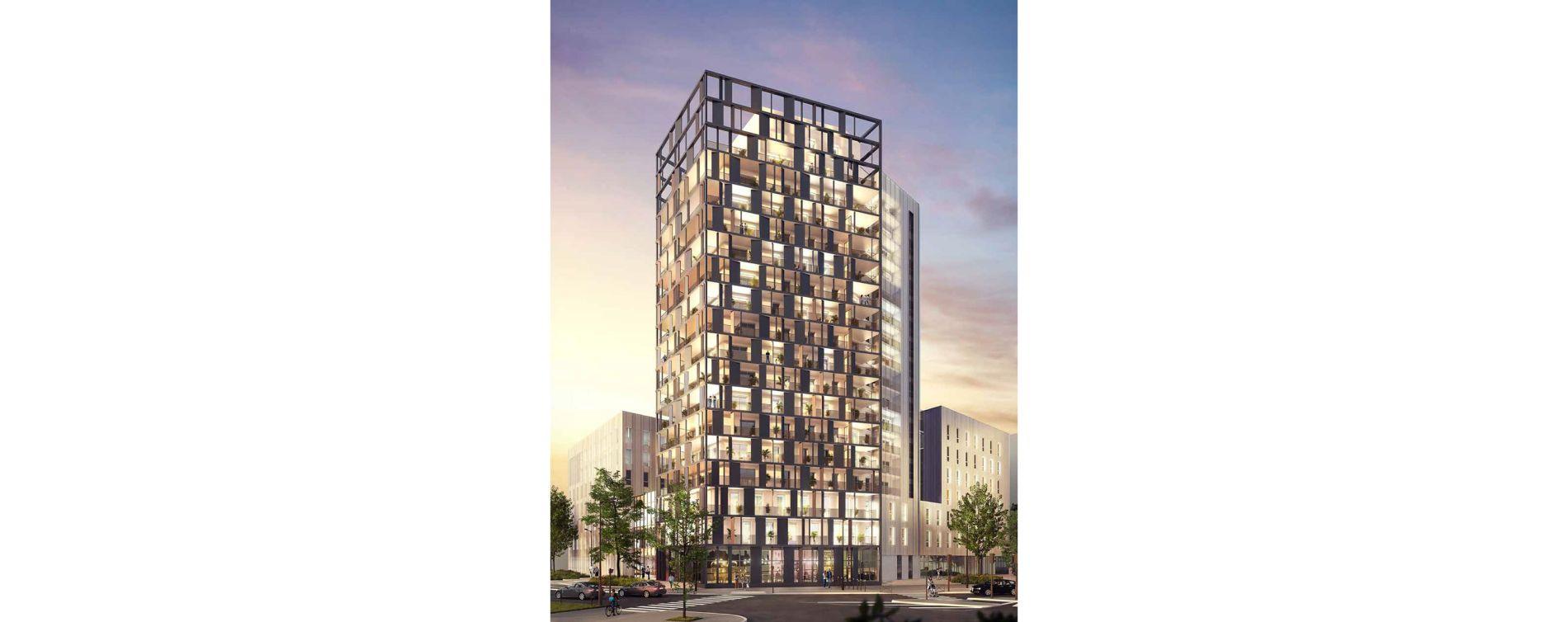 Le Havre : programme immobilier neuve « Horizon 360 » en Loi Pinel
