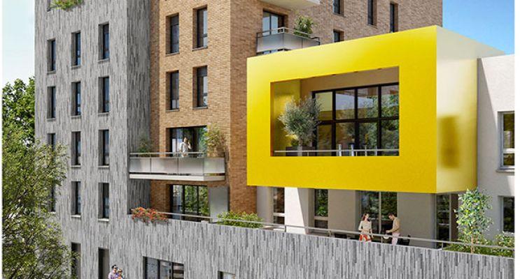 Photo du Résidence « Kubic » programme immobilier neuf en Loi Pinel à Le Havre