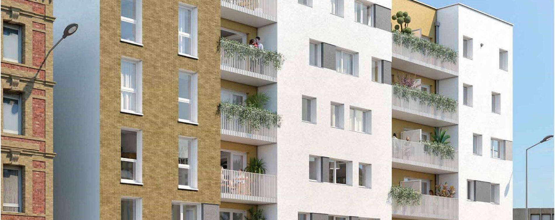 Le Havre : programme immobilier neuve « Le Cap » en Loi Pinel