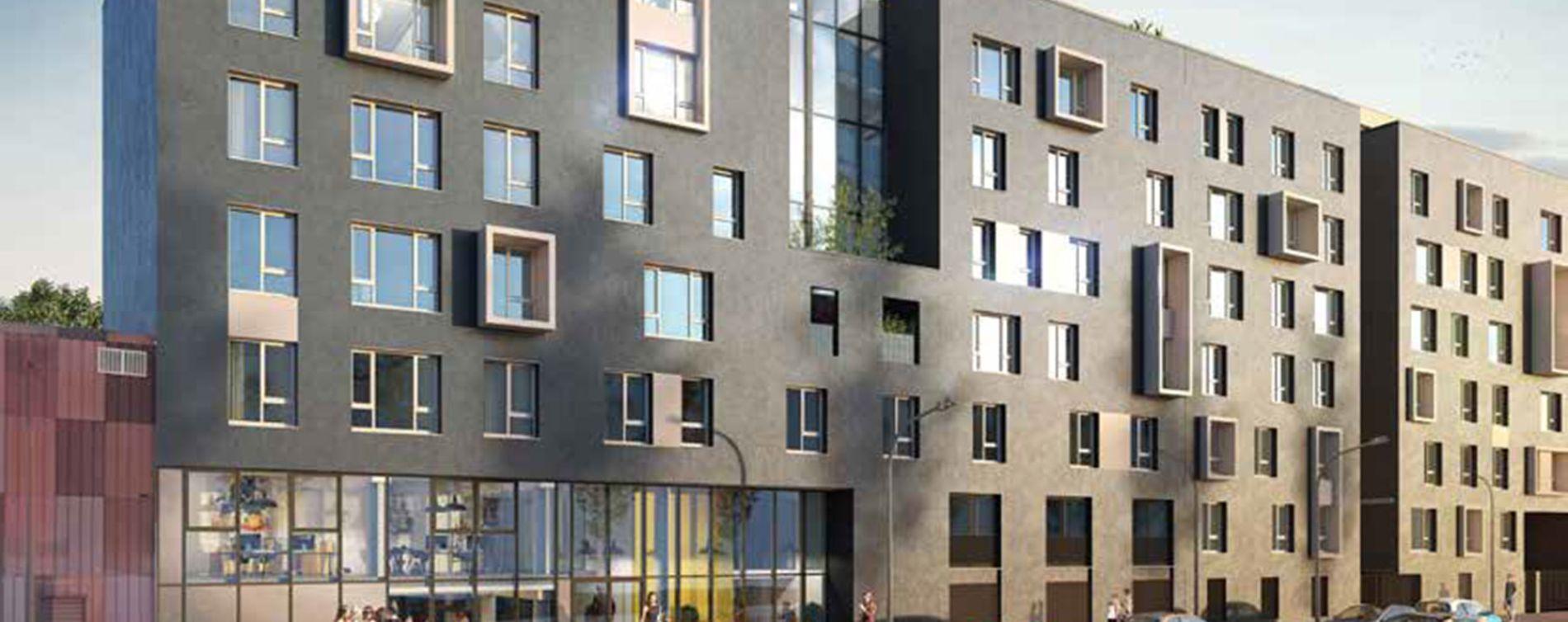 Le Havre : programme immobilier neuve « Le Havre Student »