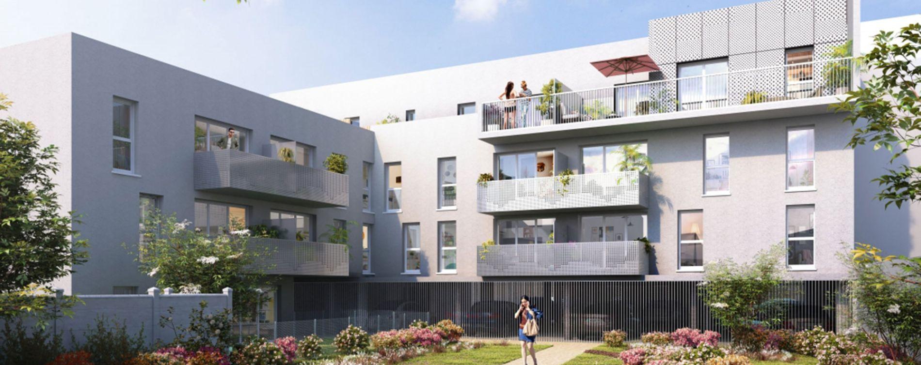 Le Havre : programme immobilier neuve « Les Jardins des Docks » en Loi Pinel (2)