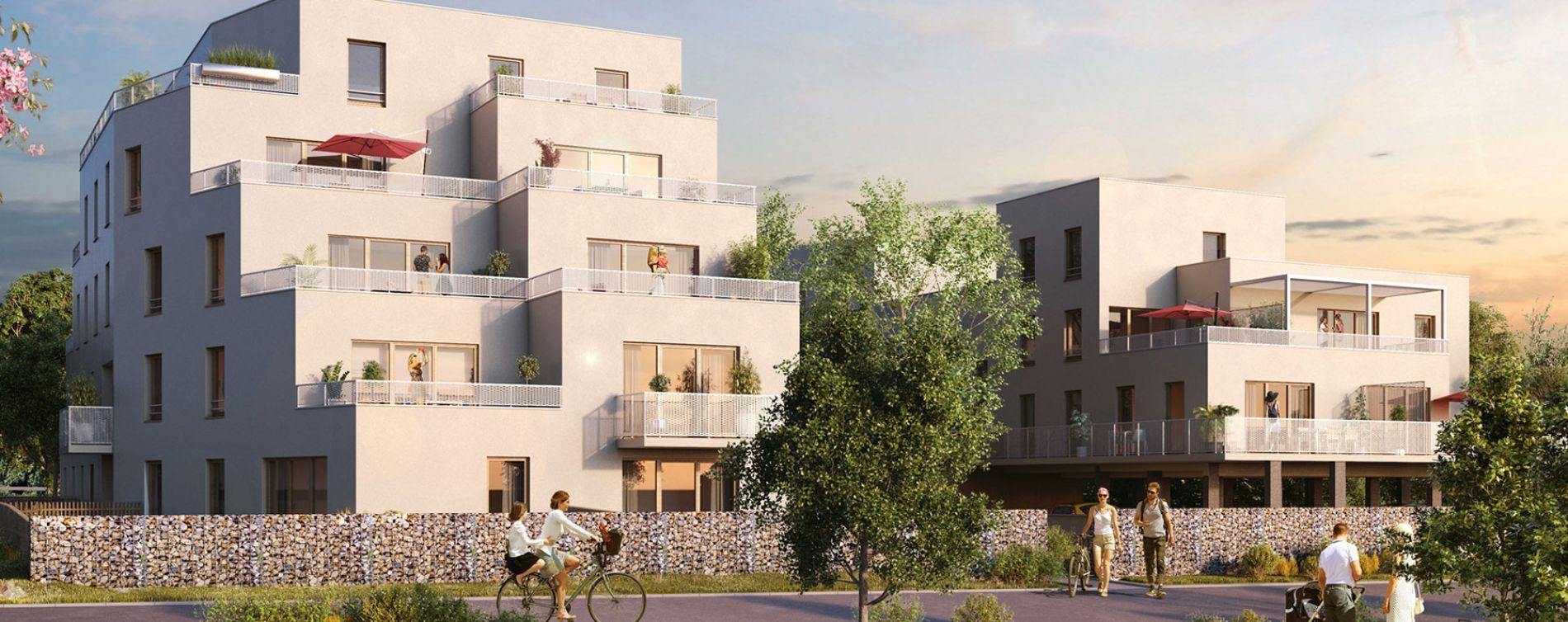 Le Havre : programme immobilier neuve « Les Terrasses Calypso » en Loi Pinel