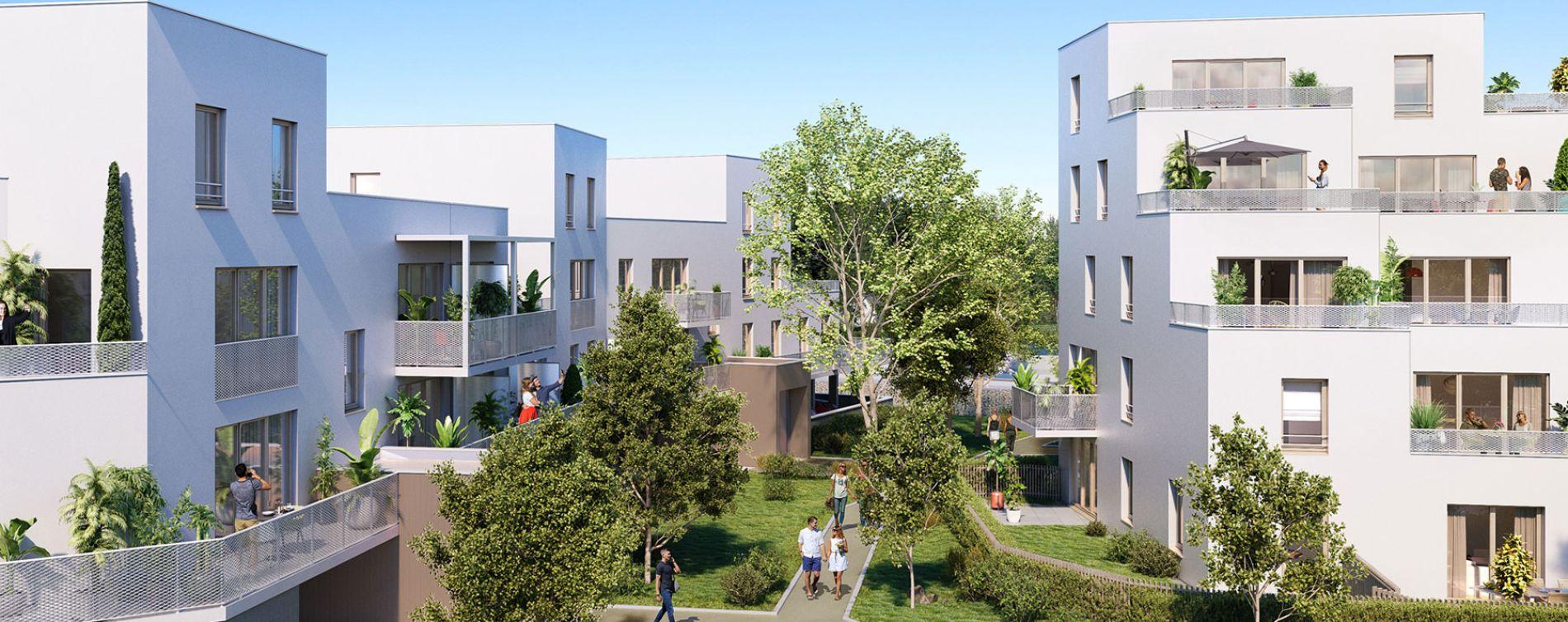 Le Havre : programme immobilier neuve « Les Terrasses Calypso » en Loi Pinel (2)