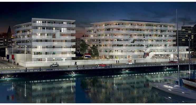 Résidence « White Pearl » programme immobilier neuf en Loi Pinel à Le Havre n°2