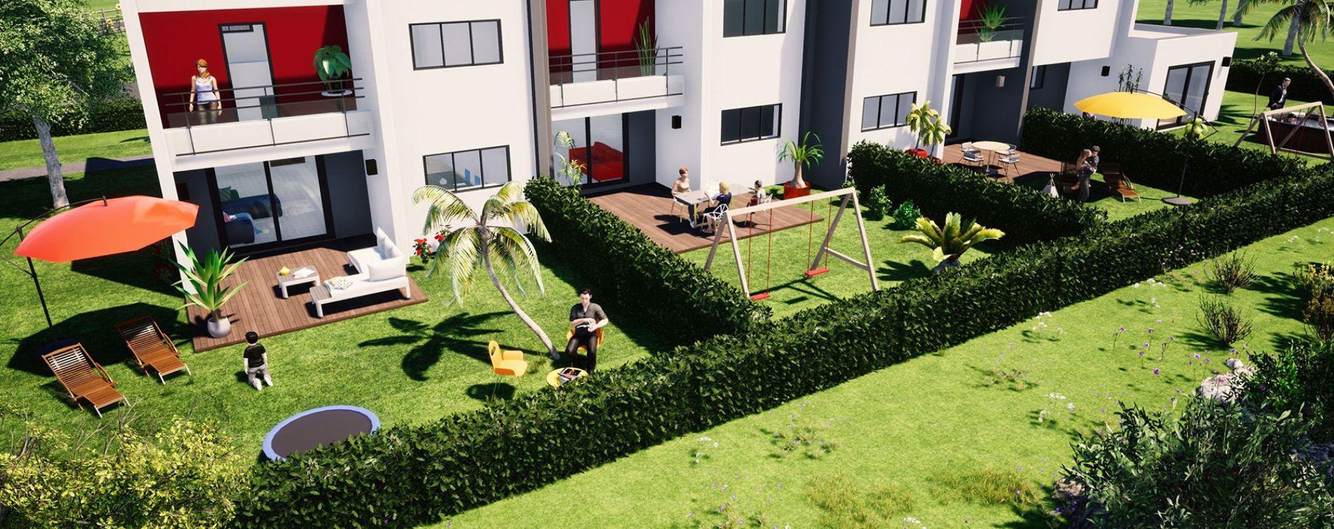 Le Mesnil-Esnard : programme immobilier neuve « Les Villas du Mesnil-Esnard »