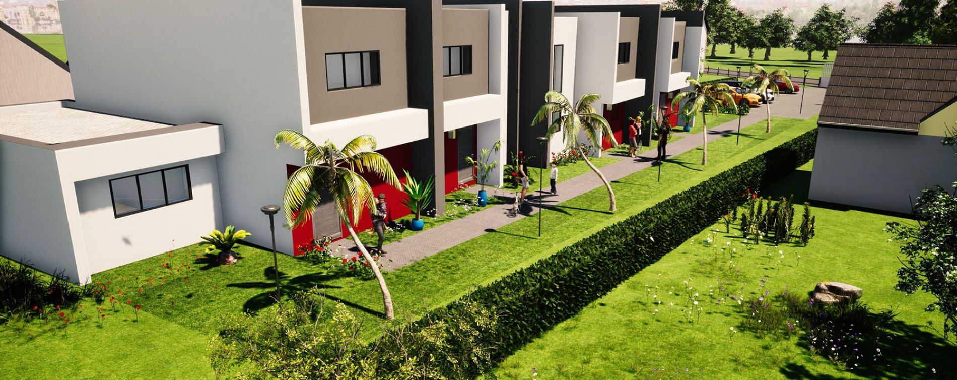 Le Mesnil-Esnard : programme immobilier neuve « Les Villas du Mesnil-Esnard » (2)