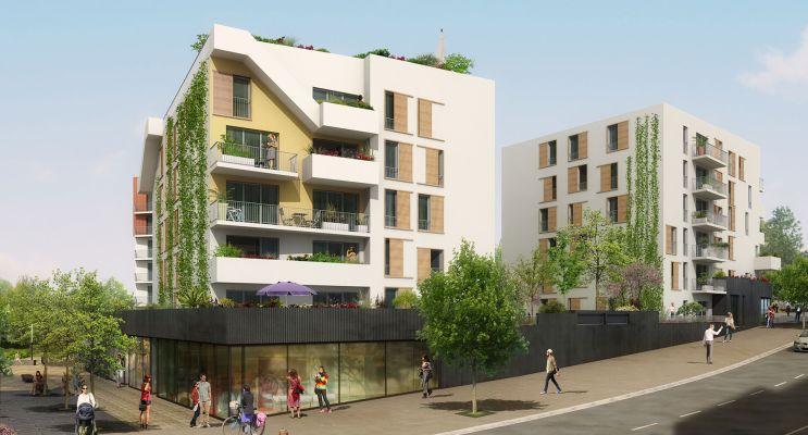 Photo du Résidence « Botanii » programme immobilier neuf en Loi Pinel à Le Petit-Quevilly