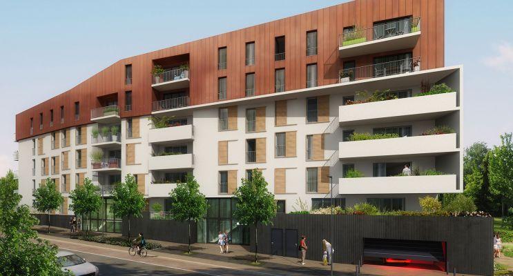 Résidence « Botanii » programme immobilier neuf en Loi Pinel à Le Petit-Quevilly n°2